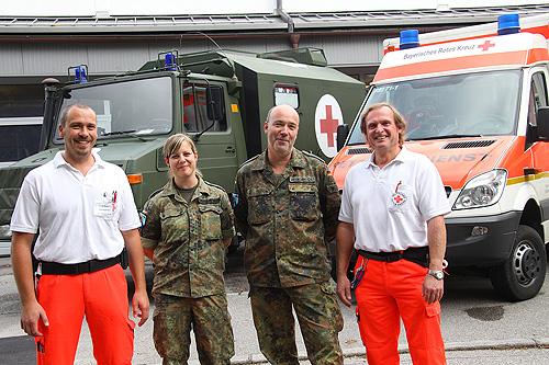 Arzt bundeswehr  BRK, Bayerisches Rotes Kreuz - Kreisverband Berchtesgadener Land ...