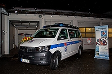 19.02.2018: Freilassinger Bergwacht nimmt neues Einsatzfahrzeug in Betrieb