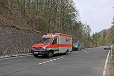 15.04.2018: Zwei Unfälle mit verletzten Motorradfahrern am Roßfeld und am Wachterl