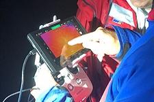 18/19.09.2018: Fünfstündiger Nachteinsatz: Verstiegene Britinnen bei Unwetter aus Absturzgelände am Kesselbach gerettet