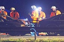 04.11.2018: Zwei Verkehrsunfälle am Sonntagabend auf der A8 bei Piding und Aufham fordern die Einsatzkräfte