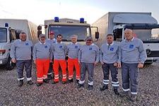 12.11.2018: Flüchtlingshilfe: Drei heimische Einsatzkräfte der BRK-Bereitschaften waren mit Hilfskonvoi in Bosnien