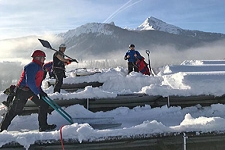 16.01.2019: Überregionale Bergwacht-Einheiten beenden am Mittwoch bei strahlendem Sonnenschein ihren Unterstützungseinsatz im Berchtesgadener Land