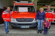 19.03.2019: Berchtesgaden hilft e. V. spendet 3.800 Euro für neue Schutzausrüstung der BRK-Bereitschaft Berchtesgaden