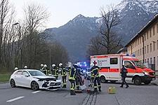 01.04.2019: Zwei Verletzte bei Verkehrsunfall auf der Nonner Straße