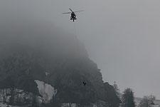 05.04.2019: Wanderer geraten wegen des vielen Altschnees im südöstlichen Lattengebirge in Bergnot