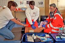 02.03.2020: Zweiter Erste-Hilfe-Stammtisch der BRK-Bereitschaft Teisendorf