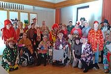 27.02.2020: Caritas und Rotes Kreuz organisieren Faschingsgaudi für Menschen mit Behinderungen im Pfarrheim Sankt Nikolaus